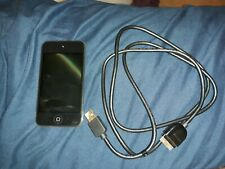 Apple A1367 iPod Touch 8GB Touchscreen Camera 4th Generation MP3 Player Black