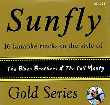 Sunfly Karaoke Gold 31 The Blues Brothers & Full Monty (CD+G) DIRECT FROM SUNFLY