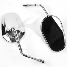 New Chrome Rear View Mirrors For Harley Davidson Sportster XL Road King Fat Boy