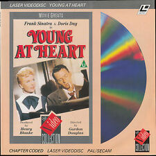 YOUNG AT HEART - LaserDisc PAL/SECAM Frank Sinatra Doris Day Gig Young Alan Hale