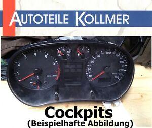 Cockpit Tachoeinheit Peugeot 207 1,4 54 kw EZ 2010 107.739 km