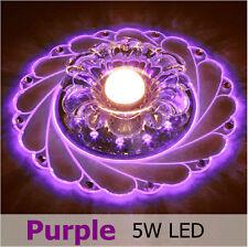 New Modern Crystal LED Ceiling Light Pendant Lamp Fixture Lighting Chandelier