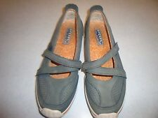 Sperry Top-Sider  Gray Leather Mary Jane Style Shoes Sz. 7.5M~~GOOD CONDITION