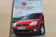 152127) Der neue Ford Fiesta - @ Ford Magazin 09/2001