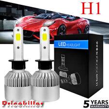 2x H1 150W 225000LM CREE Car LED Headlight Kit Hi Low Beam Bulb 6000K White NEW
