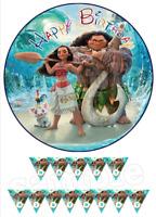 Vaiana Moana Eßbar Tortenaufleger Geburtstag Party Deko Tortenbild dvd neu