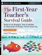 THE FIRST YEAR TEACHER'S SURVIVAL GUIDE book Julia Thompson Jossey Bass 2nd Ed.