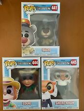 Funko Pop! Disney Talespin Set Of 3 Baloo #441 Louie #444 Sheer Khan #445 New