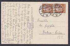 Germany Sc 401 on 1935 B&W Jewish Street PPC