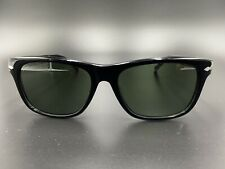 PERSOL 3001-S Col. 95/31 Black Sunglasses Hand Made in Italy 55-17-140 Authen