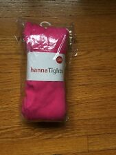 NWT HANNA ANDERSSON CLASSIC LOOSE TIGHTS Blossoming Pink 130 8