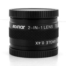 2-in-1 Lens Tele 1.7x/0.4x Wide angle for Olympus PEN E-PL1 E-PL2 E-PL3 E-PM2