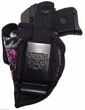 Ruger LCP .380 Muddy Girl Camo Gun holster With Extra-Magazine Holder