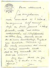 NEDERLAND  1944-8-21 POSTBLAD MET BELANGRIJKE OORLOGS GEGEVENS (SPIONAGE)!!