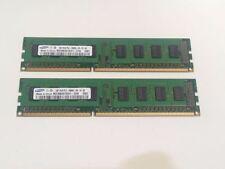 Mémoires RAM pour DIMM 240 broches, 1 Go par module avec 2 modules
