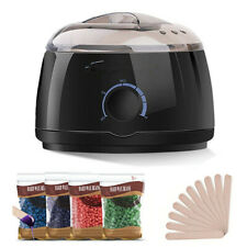 US Electric Hair Removal Spa Beauty Tool Kit Wax Bean Hot Wax Warmer Pot Machine