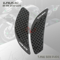 New Tank Traction Side Pad Gas Knee Grip Protector For KAWASAKI ER-6N ER6N 06-15
