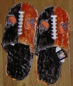 Cleveland Browns Plush Slippers FREE SHIPPING