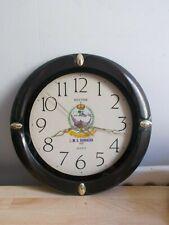 Pendule, horloge vintage RHYTHM H.M.S BORAIDA 902 Marine royale saoudienne