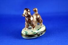 New ListingPeint Main Limoges France China Trinket Box Poodle