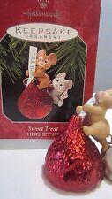 """1998 Hallmark qx6433 """" Sweet Treat  """" Ornament"""