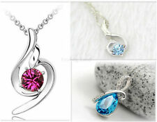 Crystal Pear Costume Necklaces & Pendants