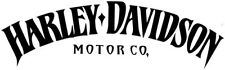 2 x Harley Davidson II Motorbike Motor Cycles Car Decal Vinyl Sticker For Bumper
