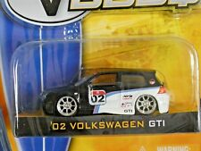 2002 Volkswagen GTI  1:64 Scale - V DUBS - Wave 3 - 2007 - Jada Toys
