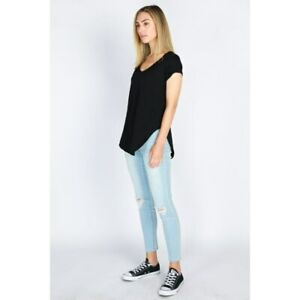 Danni Tee in Black by 3RD STORY*