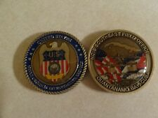 CHALLENGE COIN US NAVY CRIMINAL INVESTIGATION FIELD OFFICE GUANTANAMO BAY NCIS