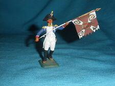 566A MHSP Voltigeur Etendard Soldat Figurine Etain 1/32 Armée Napoleon Tin