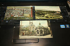 TRIO OF EDWARDIAN POSTCARDS  OF  DARWEN  LANCS  VG   AS A LOT  ! BARGAIN !!