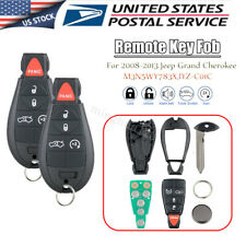 2 For 2008 2009 2010 2011 2012 2013 Jeep Grand Cherokee Remote Key Fob IYZ-C01C