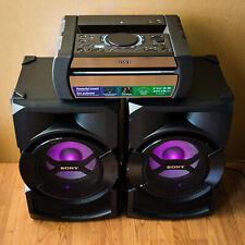 Sony SHAKE-X30 High Power Sound System - Bluetooth, Karaoke, Guitar Input, LEDs