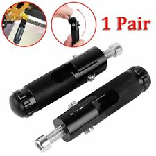 1 Paire 8mm Universal CNC Moto pliable Repose-pied Motorcycle Pegs cale-pied
