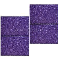 4 Pcs Guitar Pickguard Material Blank Scratch Plate Sheet Purple Pearl 43mmx29mm
