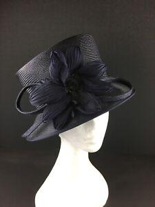 Whiteley Navy Hat. (259)