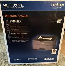 Brand New Brother - HL-L2320D Black-and-White Laser Printer - Gray BNIB