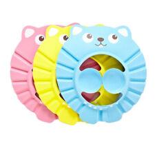 Bath Baby Supplies Baby's Shower Cap Visor Caps Hair Washing Protection Eye FI
