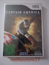 Captain America Super Soldier Nintendo Wii NEU NEW Komplett in Deutsch