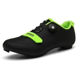 Men Road Bike Cycling Shoes Premium Microtex Cleat SPD Cycling Spinning Shoes