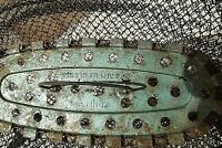 ANCIENNE  BOURRICHE ,PANIER , NASSE MAILLE  INOX, PECHE  PIEGE A POISSONS