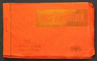 12 Ansichtskarten Postkarten West - Vlaanderen um 1920 Belgien Fotografie sf