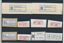 D096857 Iceland Nice selection of Used Registration Labels