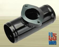 "2.5"" Blow Off Valve Flange Adaptor Black Pipe Piping For Greddy BOV Type-S RS RZ"