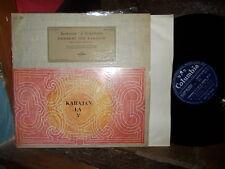BEETHOVEN: Symphony n°5 + Fidelio > Schwarzkopf Karajan / Columbia FCX France