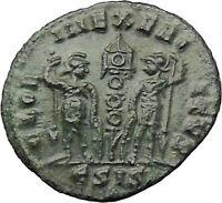CONSTANTINE II Jr. Constantine the Great son Ancient Roman Coin Legions i29843