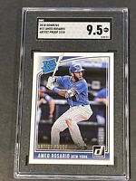 2018 Donruss Artist Proof /10 Amed Rosario Rookie SGC 9.5