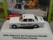 1/87 Brekina Opel Rekord C Polizei Frankfurt Fischermans Friends