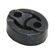 Black Exhaust System Insulator Black Rubber Reduces Vibration Fit Toyota Honda
